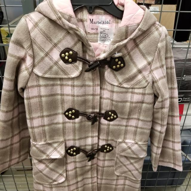 51c644412 Best Bnwt Pink Girls Coat Pink Plaid Print for sale in Ajax, Ontario for  2019