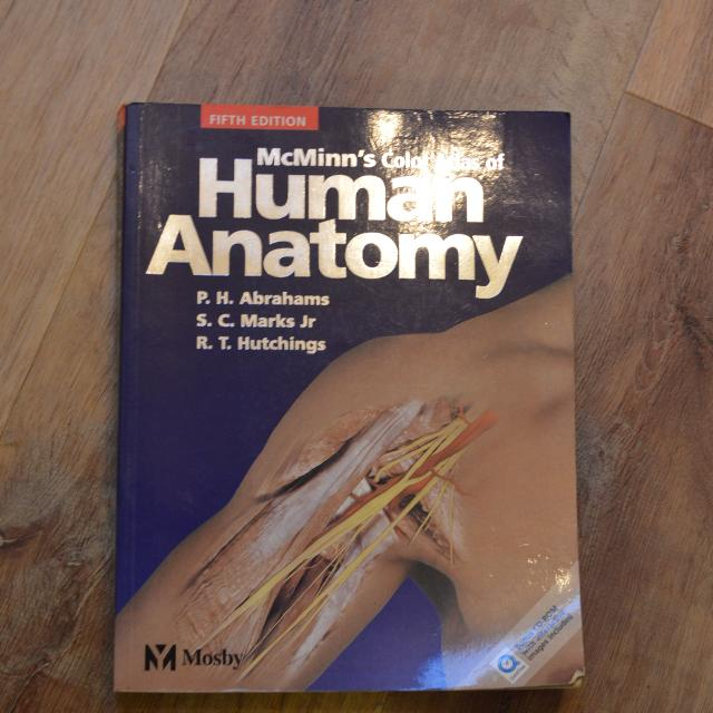 Best Mcminns Color Atlas Of Human Anatomy For Sale In Victoria