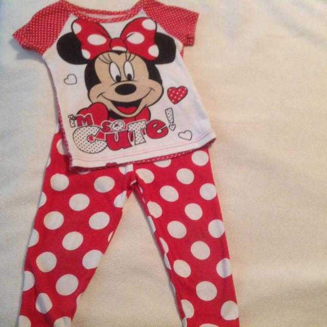 c1e1f81be Find more Cute Minnie Mouse Baby Girl Pjs ! Size for sale at up to ...