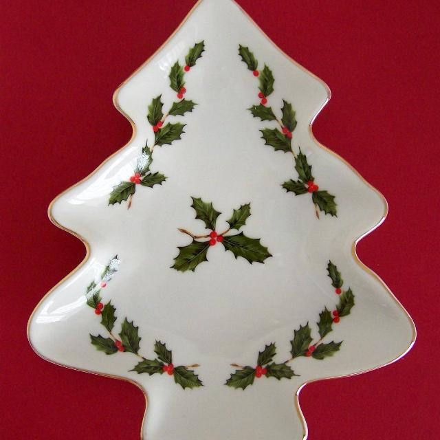 Find More Vintage Lefton China Holly Berries Christmas Tree Shaped