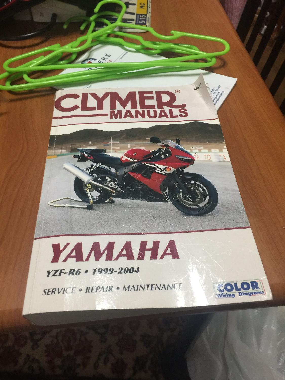 Best Clymer Manual For Sale In Sarver Pennsylvania 2018 2004 R6 Wiring Diagram