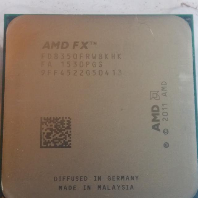 Find More Amd Fx 8 Core Black Edition Fx 8350 4ghz Processor Socket Am3 For Sale At Up To 90 Off