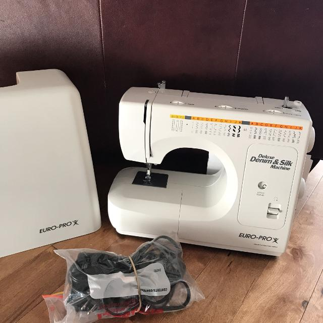 Find More Brand New Europro Model 40 For Sale At Up To 40% Off Beauteous Euro Pro Denim And Silk Sewing Machine