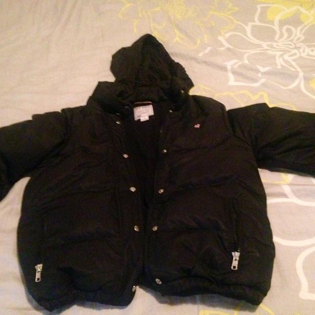 97255af5e Best Black Winter Jacket Wd Hoodie Old Navy Size Small Guc for sale ...
