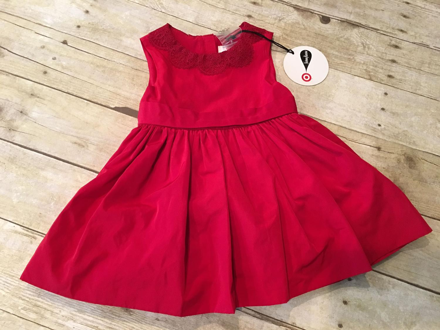 97b4b66850405 Best Target Jason Wu Neiman Marcus Infant Red Dress W/ Bloomers Christmas  Dress for sale in Pensacola, Florida for 2019
