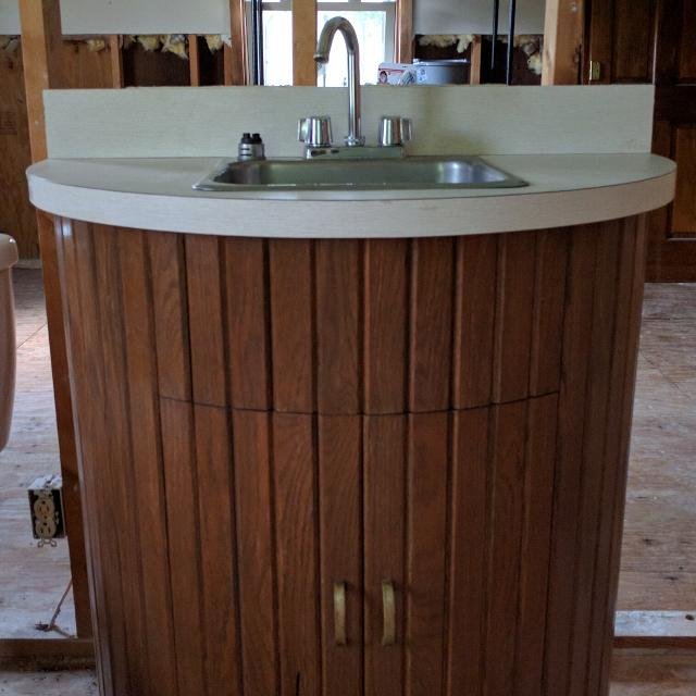 Best Semi Circle Bathroom Vanity W Sink For Sale In White House Tennessee For 2021