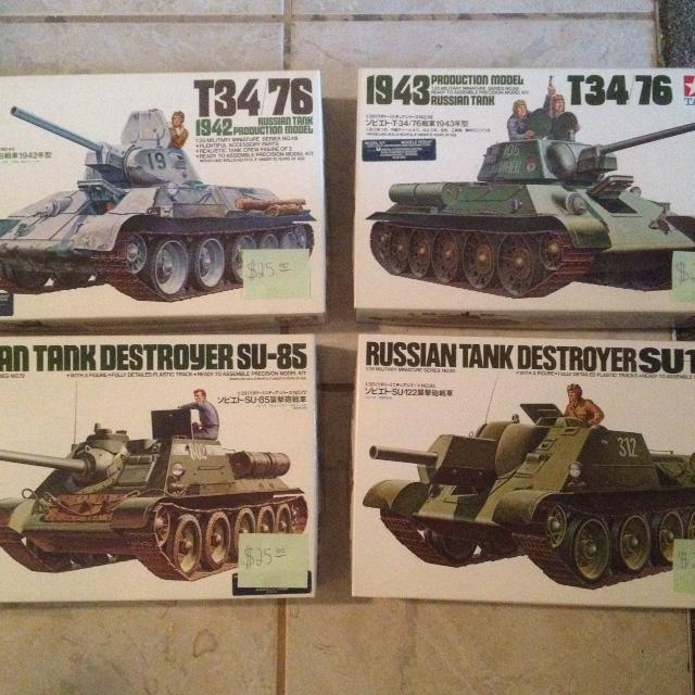 find more plastic models 1 35 scale ww2 soviet tanks for sale at up