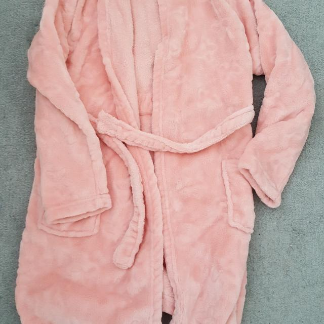 Best Matalan Hooded Soft Dressing Gown. Aged 10-11 Years for sale