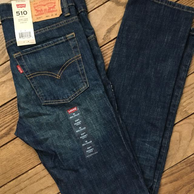 0714bc068 Find more Boys/teen Levi Jeans 510 Skinny Nwt 29x29 for sale at up ...