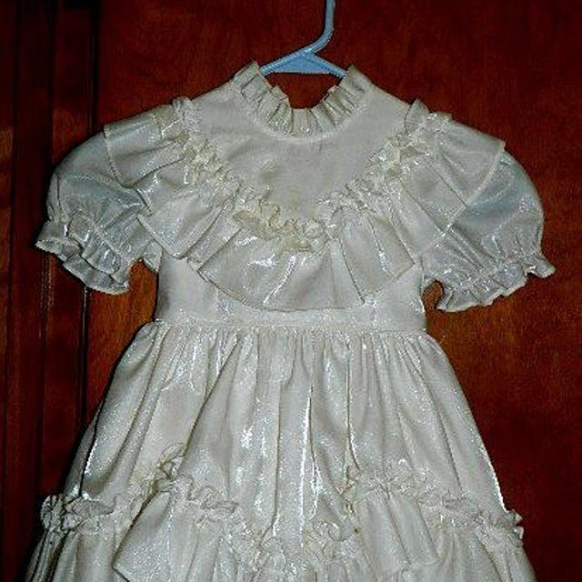 41262e2e48f Best White Iridescent Flower Girl Dress Size 3 for sale in Peoria ...
