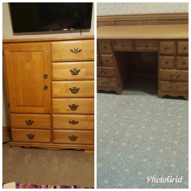 Best Matching Desk And Tall Dresser For In St Charles Illinois 2019