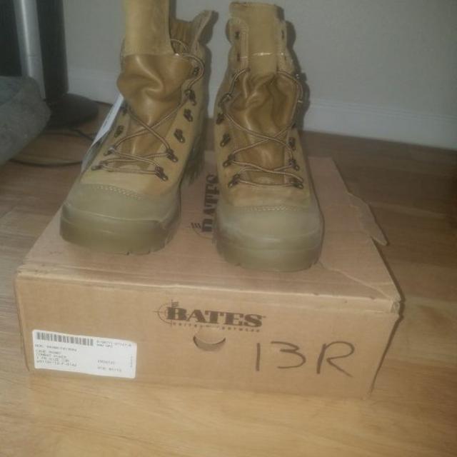 daf07e589ae Bates mountain combat boots mens size 13