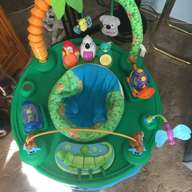 b59b77b2f Find more Evenflo Exersaucer Triple Fun - Life In The Amazon for ...