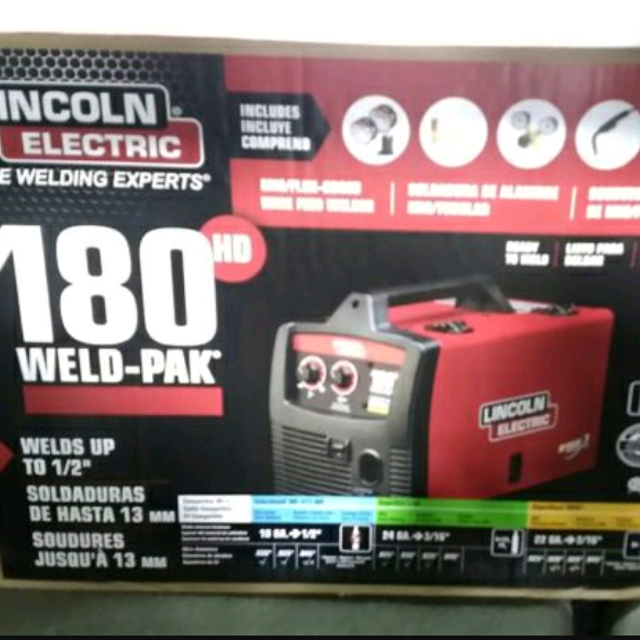 Best Lincoln Electric 180 Hd Weld Pak For In Vacaville California 2019