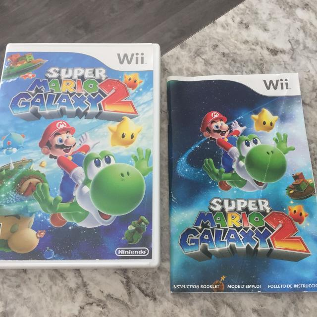 Find More Super Mario Galaxy 2 Nintendo Wiiwii U For Sale At Up