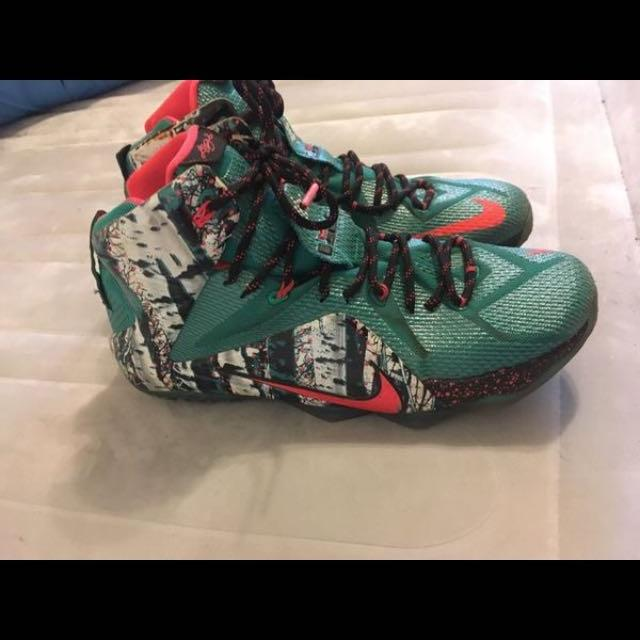 reputable site 6949d b85e8 Best Nike Lebron 12 Christmas for sale in Hillsboro, Oregon for 2019