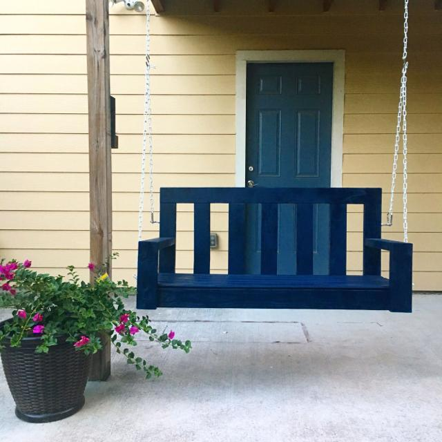 Best Custom Wooden Porch Swings Customized For You In Houston Texas 2019
