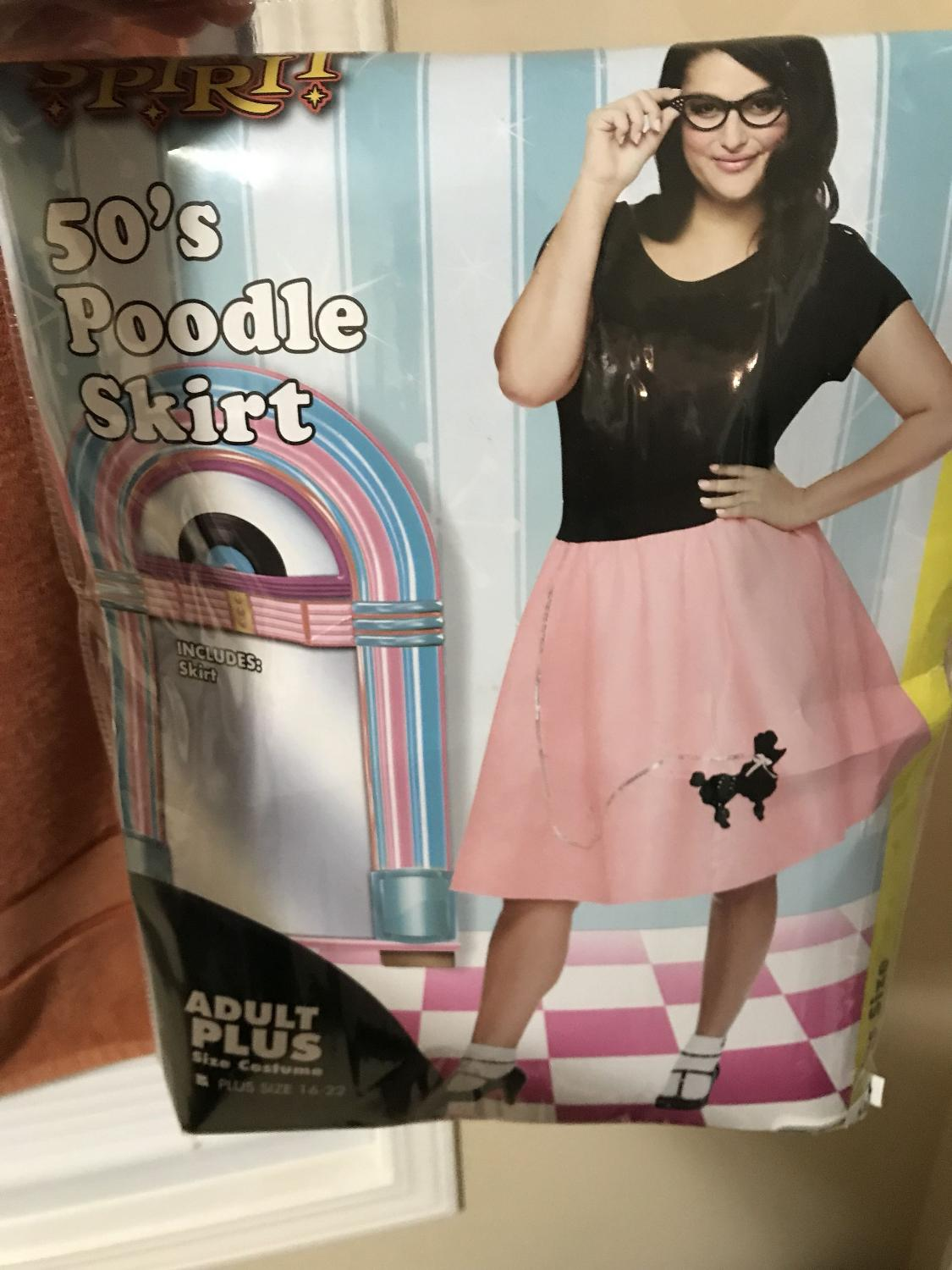 Best Halloween Poodle Skirt Plus Size For Sale In Calgary Alberta 2017