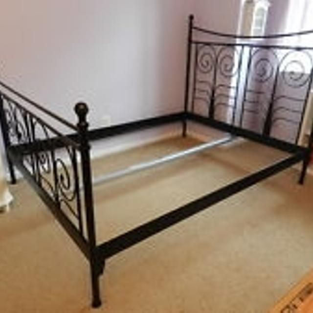 brand new 5fdeb faf44 Ikea Noresund Queen Bed Frame