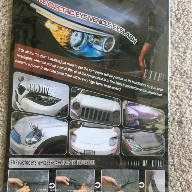 Find More Vehicle Eyelashes For Sale At Up To 90 Off
