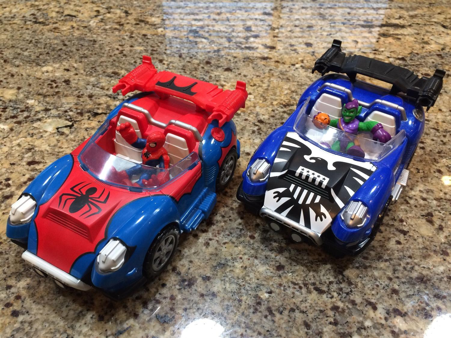 Best Spider Man And Green Goblin Characters With Cars For Sale In Victoria British Columbia For 2020