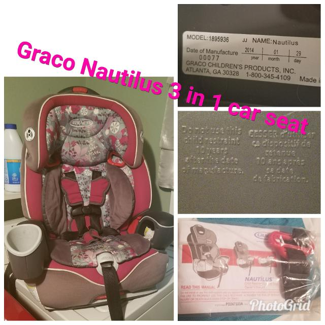 Best Graco Nautilus 3 In 1 Car Seat for sale in Beeville, Texas for 2018