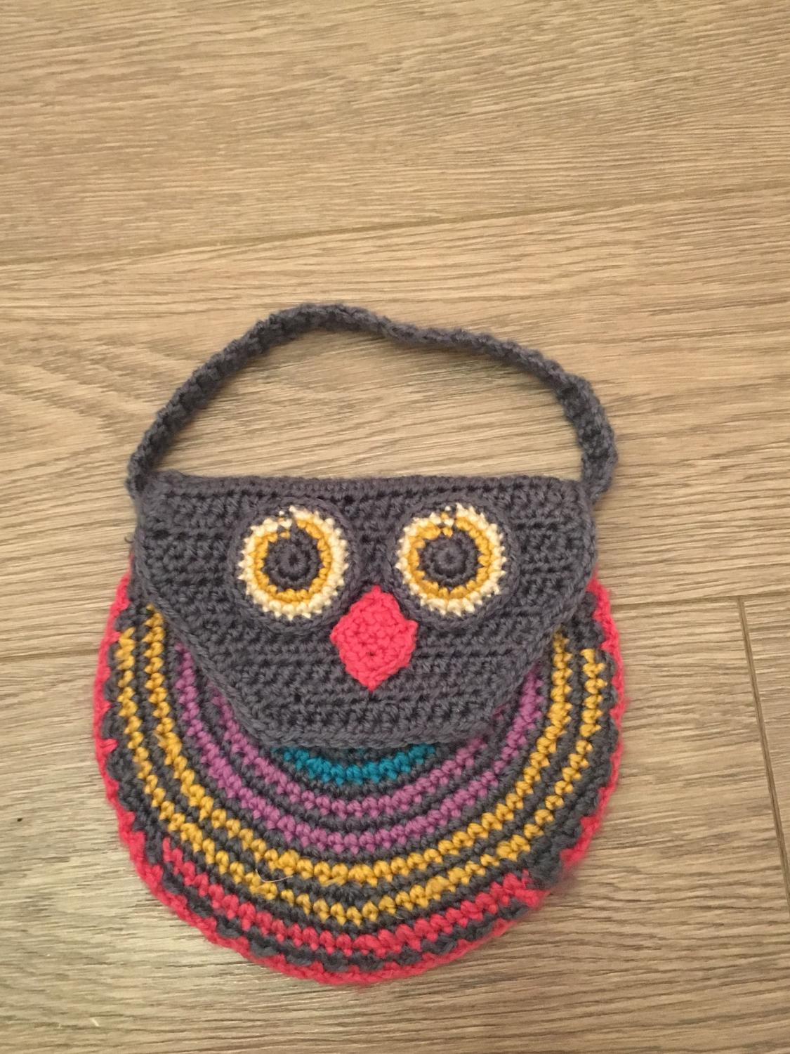 Find More Little Girls Crocheted Owl Purse For Sale At Up To 90 Off