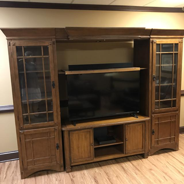Best Mission Style Entertainment Cabinet For In Mcdonough Georgia 2019