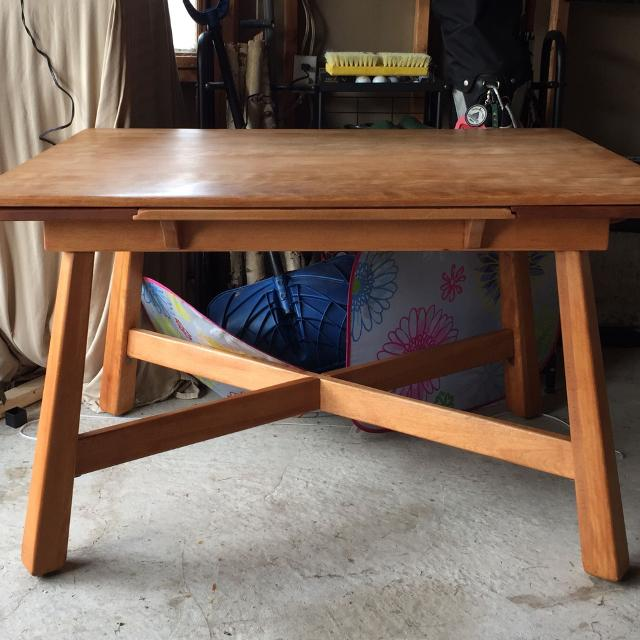 Antique Maple Dining Table and Chairs
