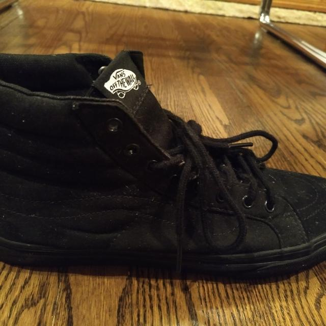 a0d9434b03 Best Vans All Black Old Scoops High Tops - Size 9.5 Mens - Like New for  sale in Etobicoke