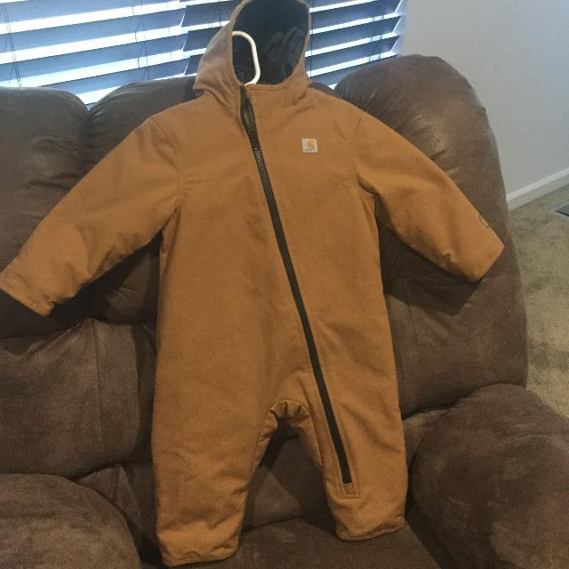 b99da0f62 Find more Carhartt Quilted Quick Duck Snowsuit for sale at up to 90% off