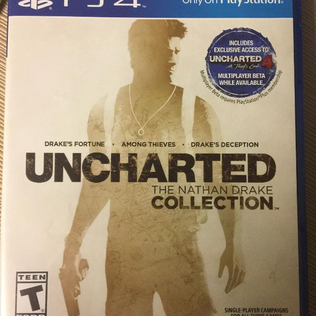 Best Ps4 Uncharted Nathan Drake Collection 3 Games Included For Sale In Mobile Alabama For 2020