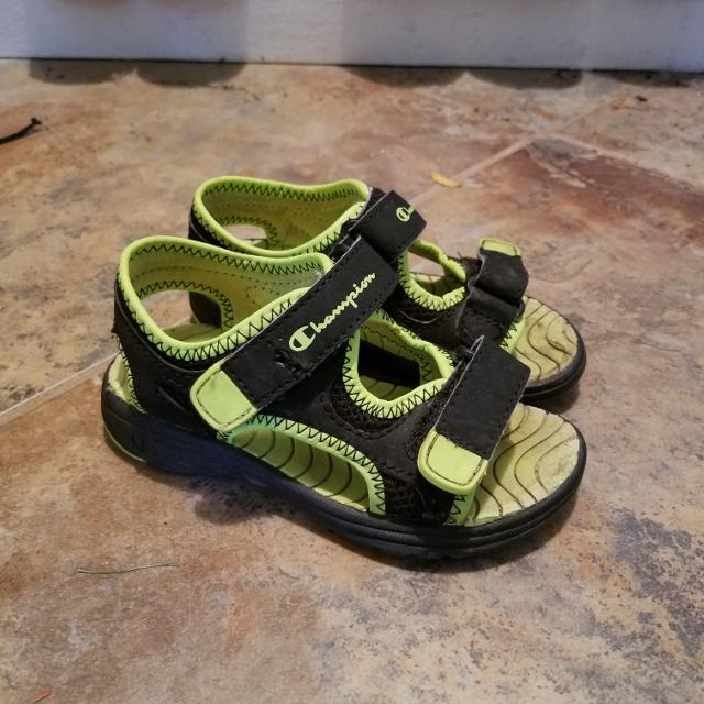f0916df0061f8 Best Toddler Size 8 Champion Sandals for sale in Morton