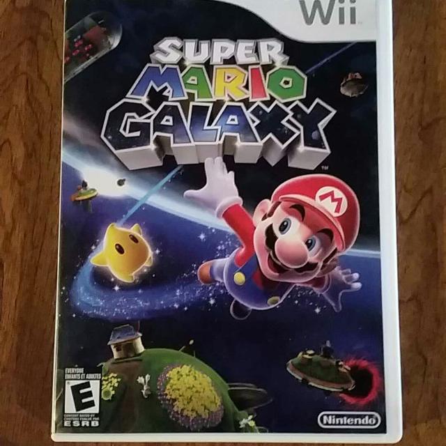 Super Mario Galaxy (original copy) Wii U and Wii