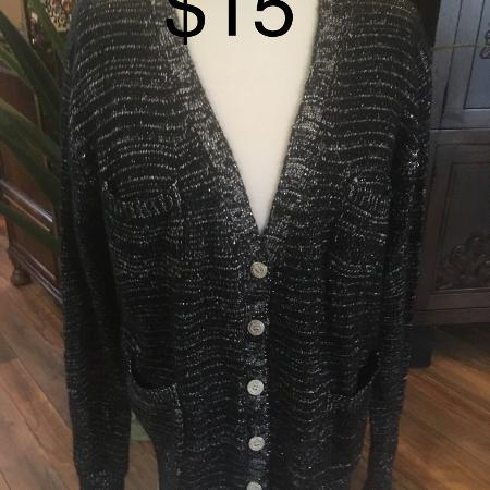Ladies Size 1X Cardigan for sale  Canada