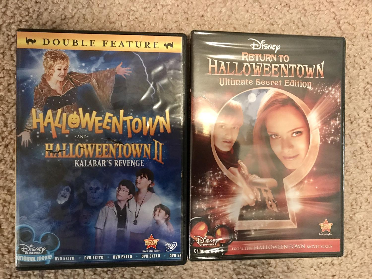 find more halloweentown movies 12 3 dvds 8 for all 3 for sale at up to 90 off