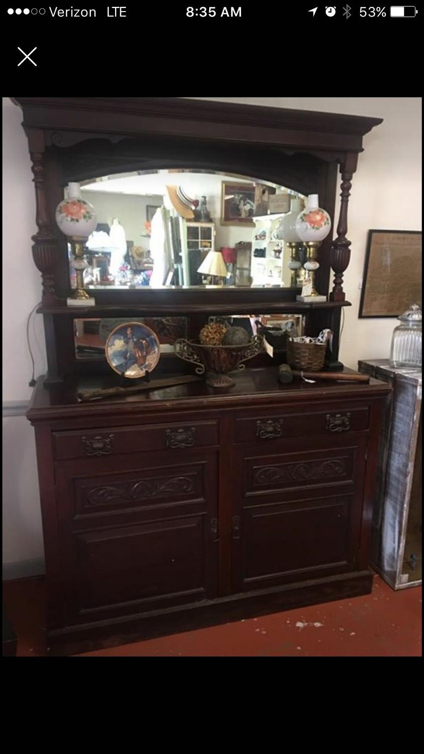 find more circa 1860 mahogany buffet for sale at up to 90 off. Black Bedroom Furniture Sets. Home Design Ideas