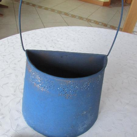 Used, Blue Pierced Tin Wall Ornament for sale  Canada