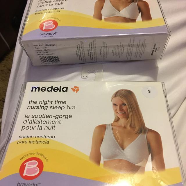 4baf10e7a01 Best 2 Medela Night Time Nursing Sleep Bras Brand New for sale in  Champaign