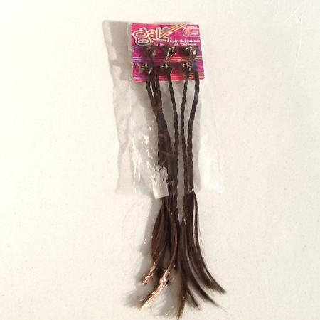 *NEW* Clip In Dark Brown Hair Braids for sale  Canada