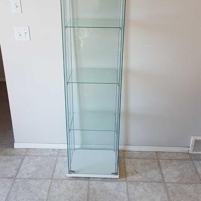Find More Ikea Detolf Glass Cabinet For Sale At Up To 90 Off