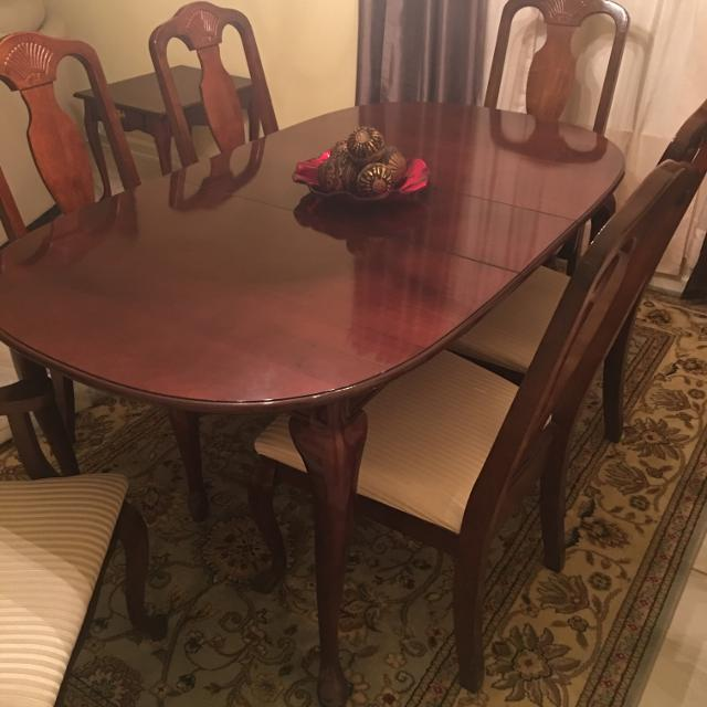 Best Ethan Allen Dining Table For 6 In Round Rock Texas 2019