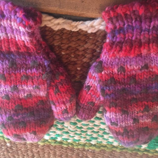 Find More Handmade Knitted Mittens From Newfoundland Price Reduced