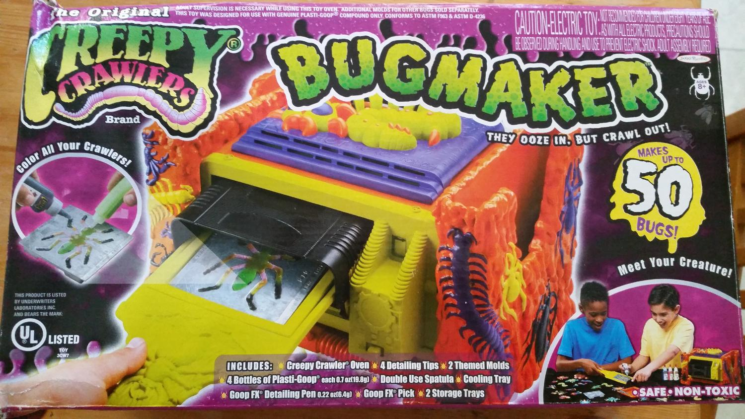 Best Creepy Crawlers Bug Maker - Never Used for sale in Ashburn ...