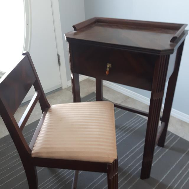 Antique phone table and chair - Find More Antique Phone Table And Chair For Sale At Up To 90% Off