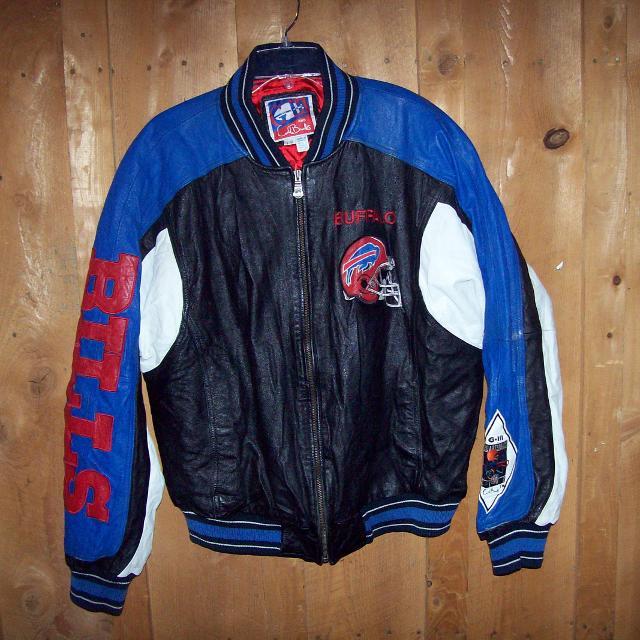 704dfcbadda Best Vintage Leather Buffalo Bills Coat for sale in Erie ...