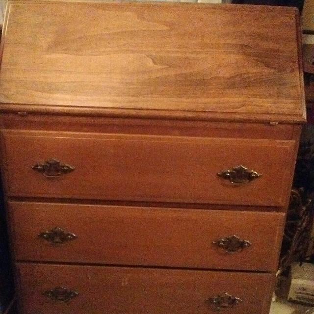 956655ffcf57 Best Vintage 1930 s Secretary Desk   9 Drawer Dresser  chest Of Drawers for  sale in Portland