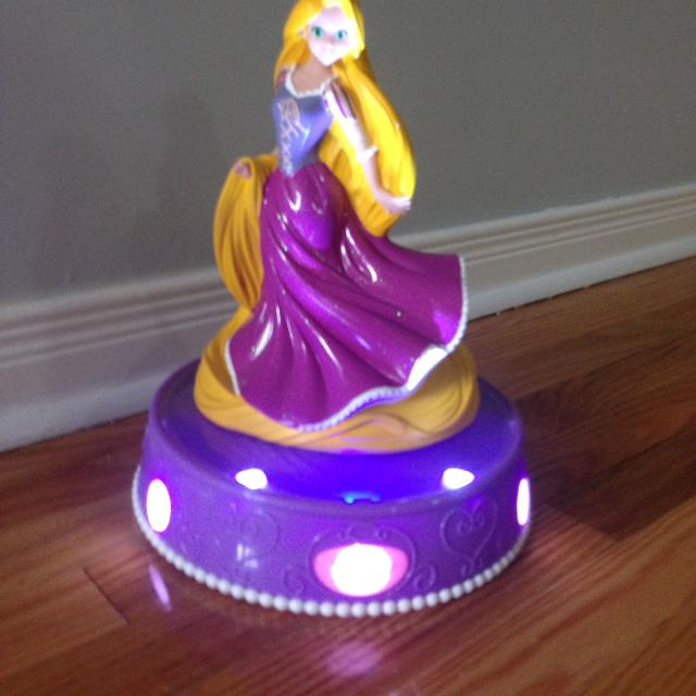 Rapunzel Piggy Bank Lights Up And Sings
