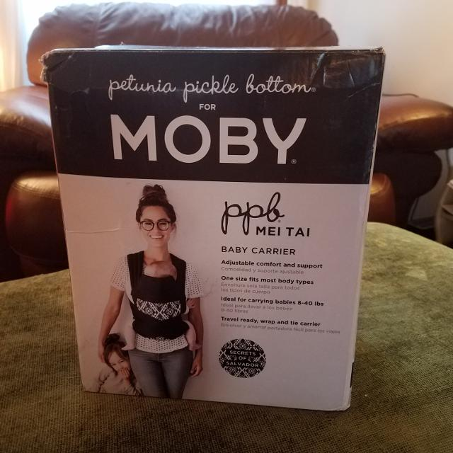 Moby Baby Carrier Petunia Pickle Bottom For Moby Baby Carrier Brand New In Box