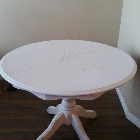 Used, Solid oak table & leaves for sale  Canada